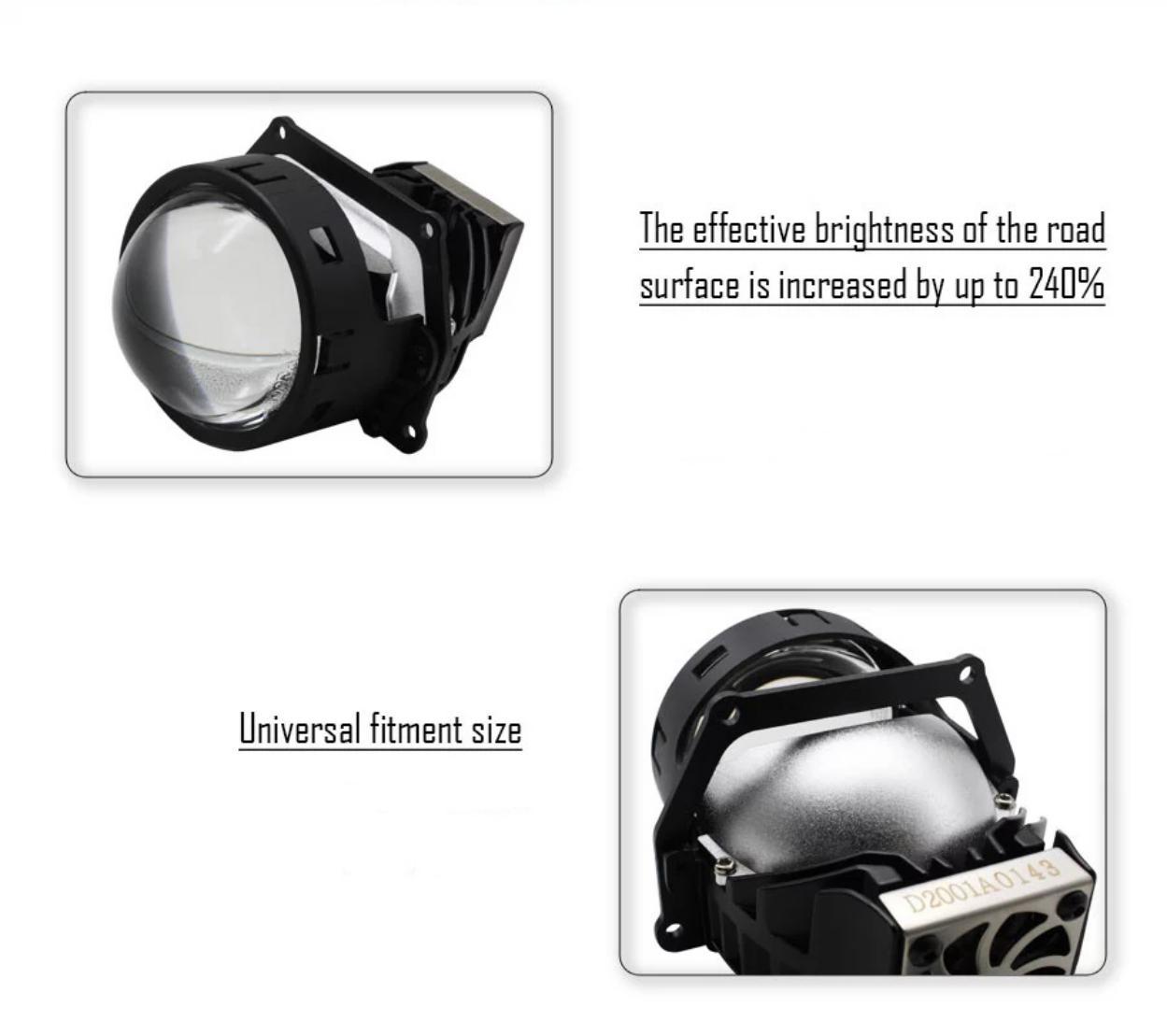 Bi LED pha Maxviss V8 Pro