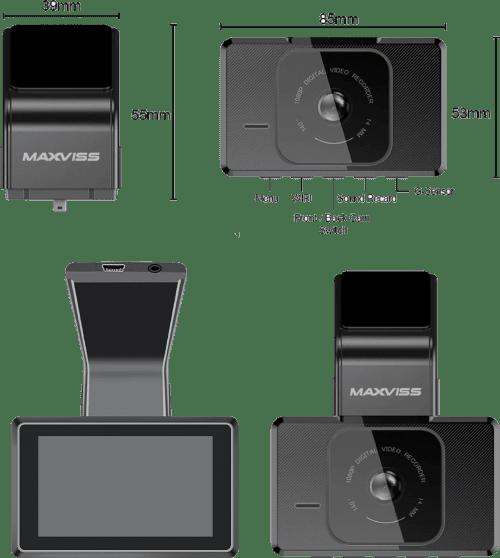 Camera hành trình Maxviss M10