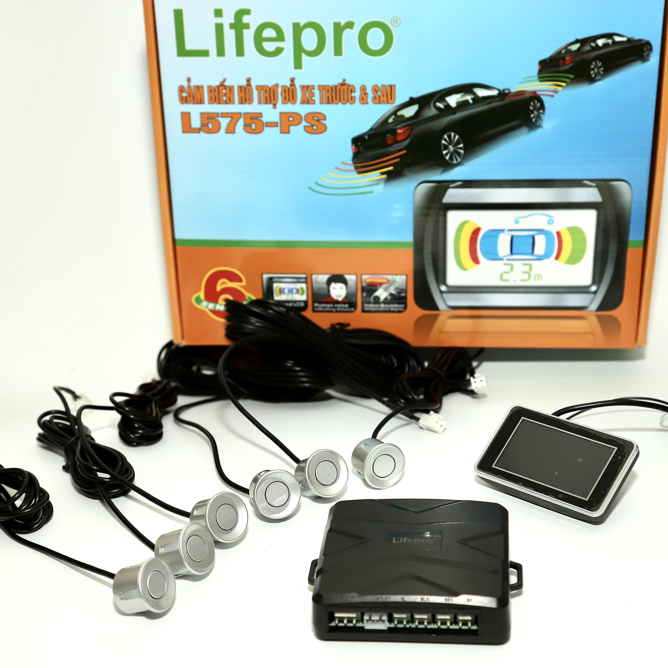 Cảm biến hỗ trợ đỗ xe Lifepro L575-PS ( 6 mắt )